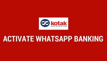Kotak Mahindra Bank Introduced WhatsApp Banking