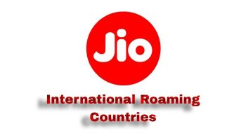 Jio International Roaming Countries List