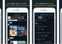 Search your Streaming Service using JustWatch Mobile App