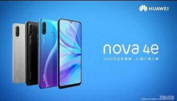 Huawei Nova 4e With Triple Camera and 6.15 inch Screen Launched