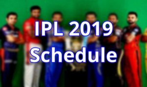 IPL 2019 Season