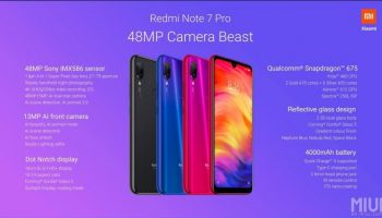 Redmi Note 7 Pro Flash Sale Now Available For the 3rd Time
