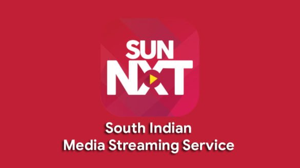 sunnxt south Indian media streaming service