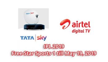 Tata Sky And Airtel Digital TV Offering Star Sports Channel to Watch IPL 2020