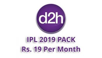 Videocon D2H Offers Sports Channels For ICC World Cup 2019 at Rs. 19 Per Month