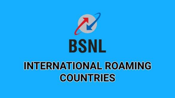 BSNL-International-Roaming-Countries