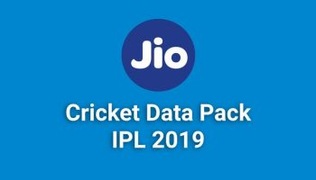 Jio Cricket Data Pack to Watch Live ICC Cricket World Cup on Mobile