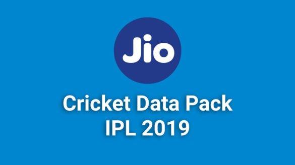 Jio Cricket data pack
