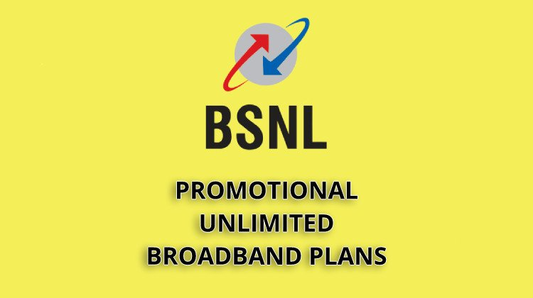 unlimited bsnl broadband plans