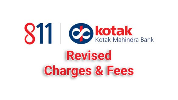 Kotak 811 Fees and Charges