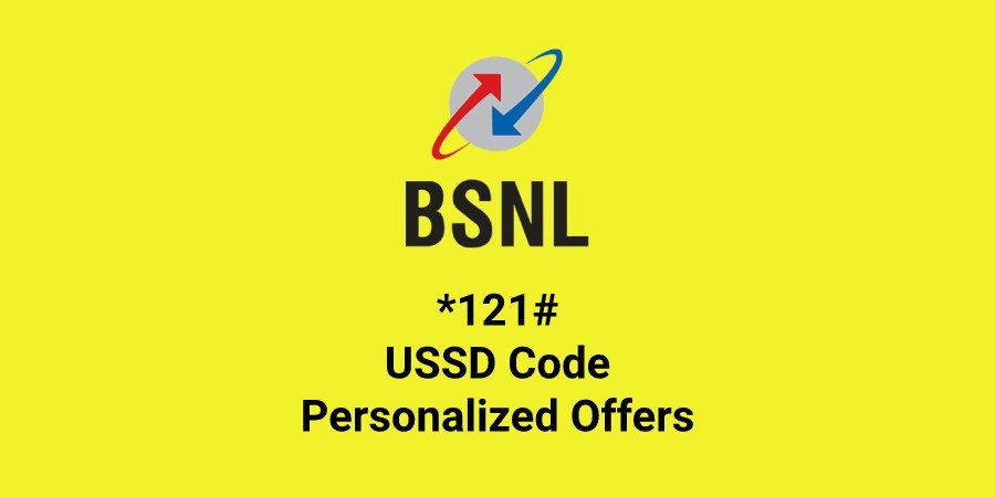 BSNL USSD Code *121# For Offers