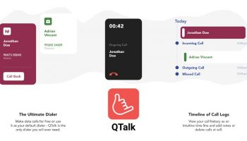 QTalk Free WiFi Data Call From Mobile Number Using Android Mobile App