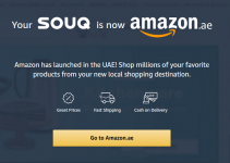 Souq is Now Amazon.ae – Officially Launched Website in UAE