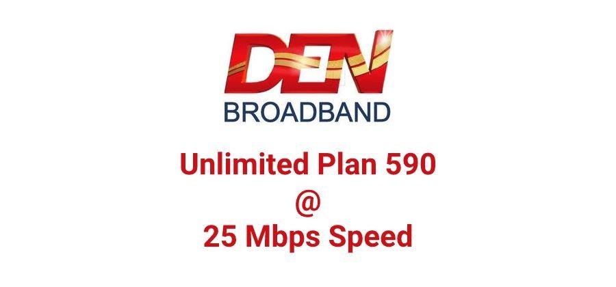 Den Broadband Plan 590