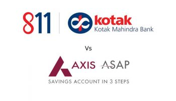 Axis ASAP vs Kotak 811 – Comparison of Digital Saving Accounts