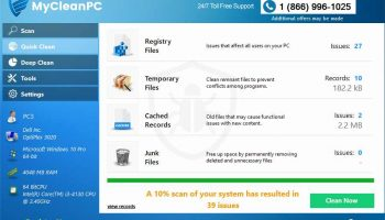 MyCleanPC – Clean And Speed Up PC Quickly