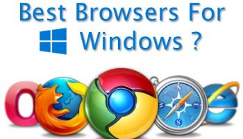 Best 5 Browsers for Windows 10