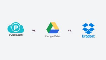 Advantage of pCloud over Google Drive and One Drive