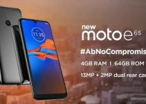 Moto E6s Mobile with 4GB and 64GB Memory at Rs. 7000