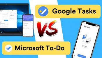 Comparison Between Google Task and Microsoft To-Do App
