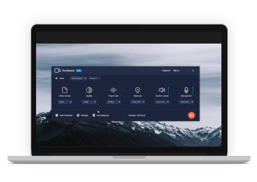 RecMaster-Screen-Recorder