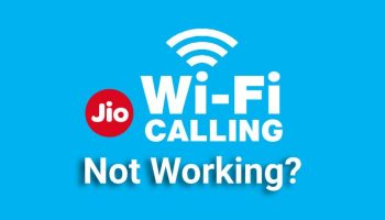 Jio WiFi Calling Not Working Now