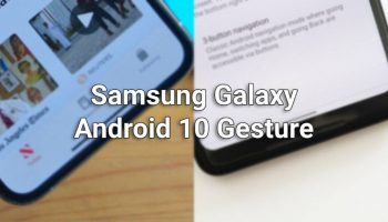 Default Android 10 Gesture Not Working on Samsung Galaxy Device