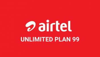 Airtel Unlimited Calling Plan 99 For Selected Circle