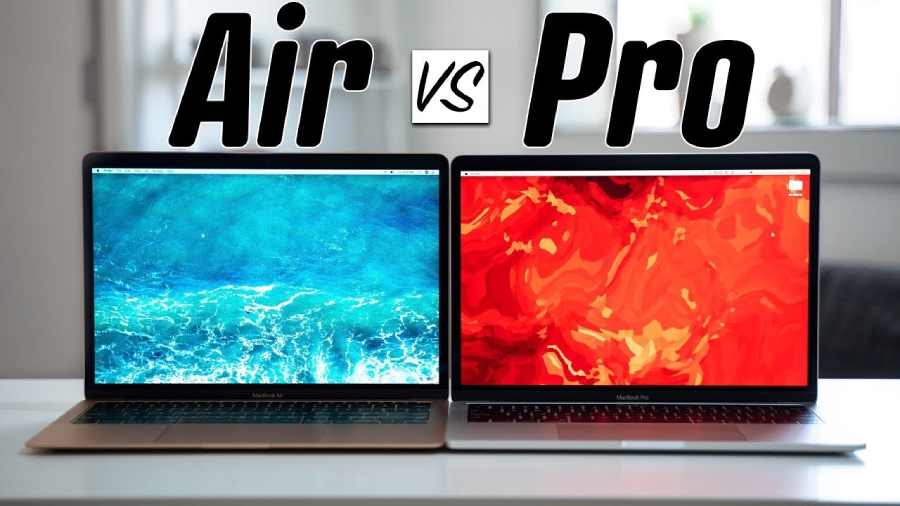 MacBook Air vs MacBook Pro