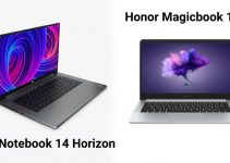 Comparison of Mi Notebook 14 Horizon and Honor Magicbook 14
