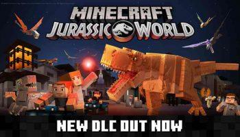 Minecraft Jurassic World DLC Release