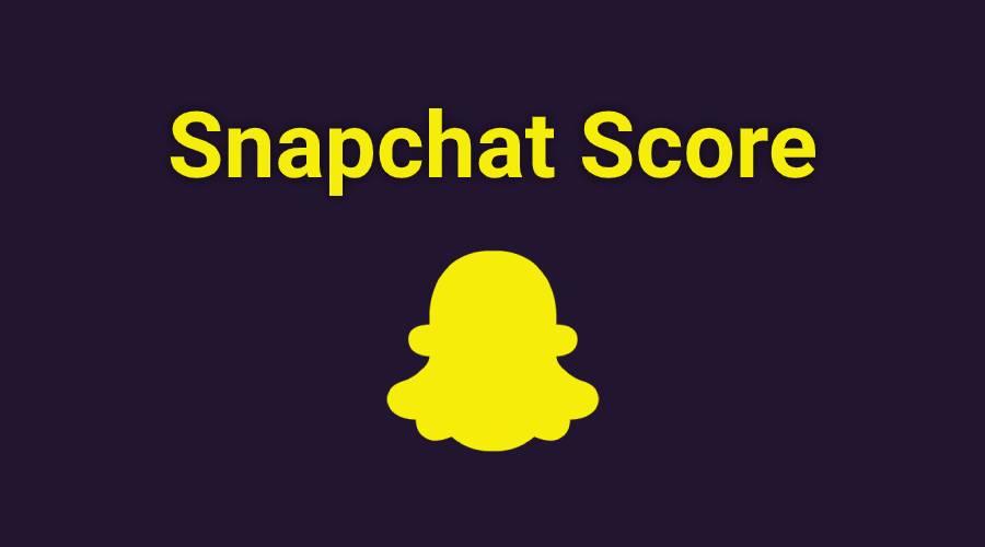 Snapchat-score