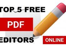 Top 5 Best Free Online PDF Editor