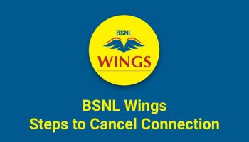 How to Cancel BSNL Wings Connection