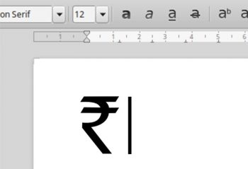 How To Use Indian Rupee Symbol on Windows 10