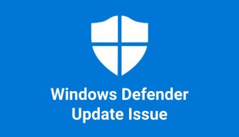 How to Fix if Windows Defender does not Update