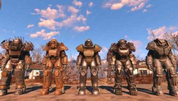 Access Map in Power Armor in Fallout 4