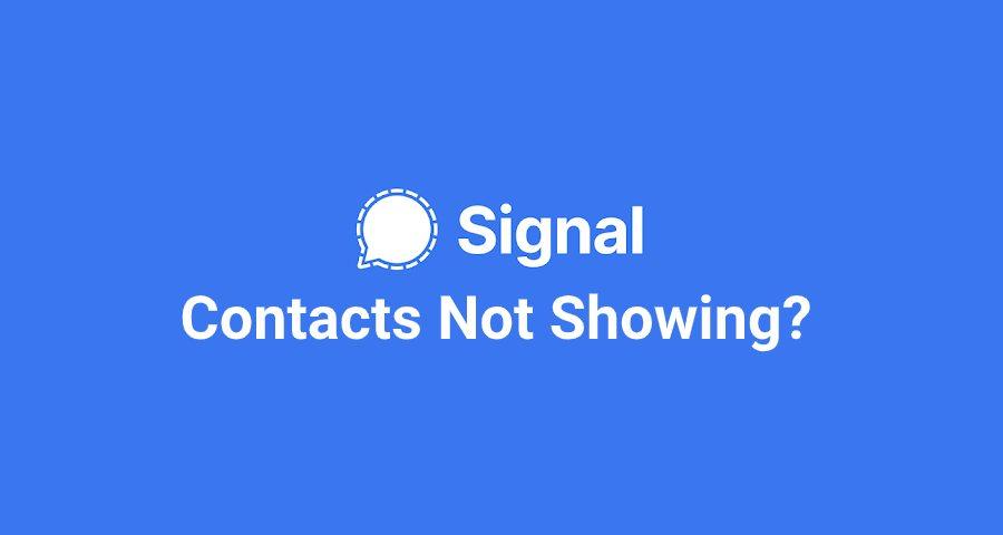 Signal-Contact
