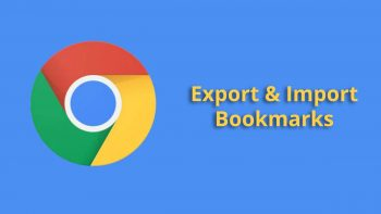 How to Export Chrome Bookmarks to Other Browsers