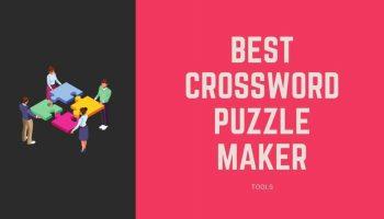 Best Crossword Puzzle Maker Tools