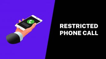 What is a Restricted Phone Call or Private Number